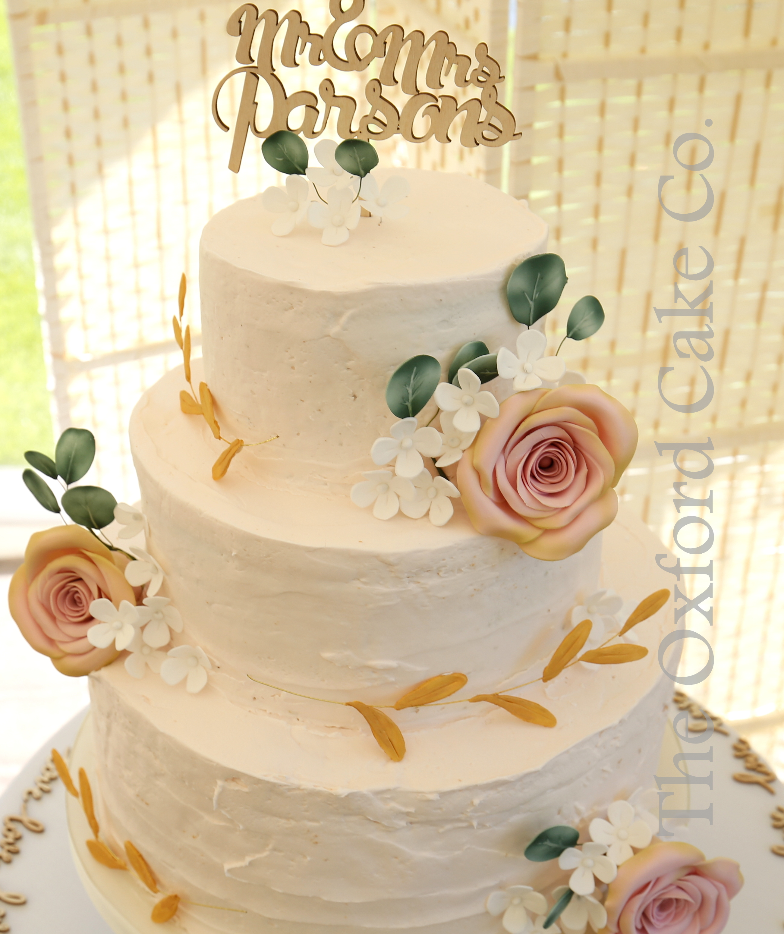 Christchurch Based Wedding Cake Makers: Oxfordshire Based Wedding And Event